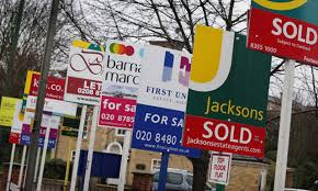 Number of house buyers falls for first time in 5 years