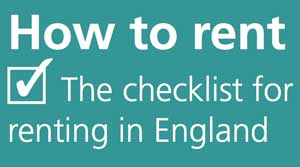 How to rent checklist for renting in England